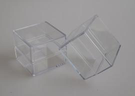 DIY - Verpakkingen 5 Stuks Acryl doosjes