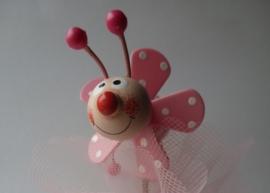 Geboortebedankje Windmolen Lieveheersbeest Rose