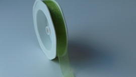 DIY - Organza lint Groen 15mm.