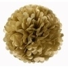 Decoratie PomPoms Goud