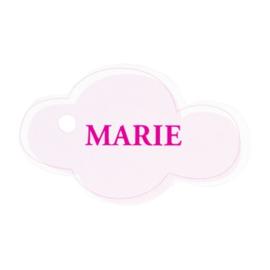 Bedankkaartje: 20 stuks Kaartjes Roze Marie