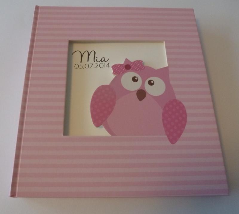 Babyfotoalbum Owlet Girl