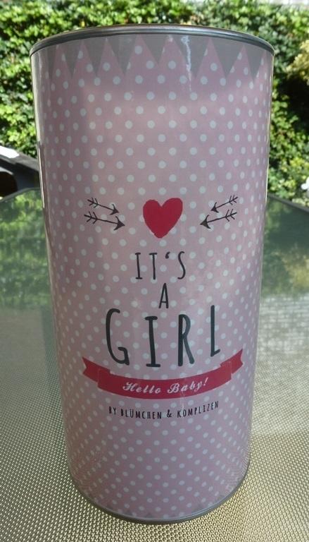Geschenkblik It's a Girl