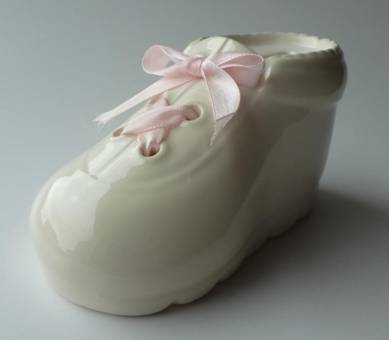 Spaarpot Schoentje Roze