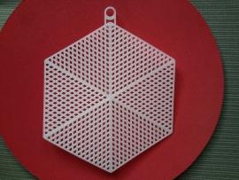 """Hexagon 5,5"""" 14 cm."""