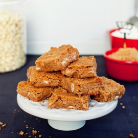 Receptkaart voor Blondies