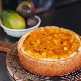 DIY bakpakket voor Cheesecake met mango-passievrucht