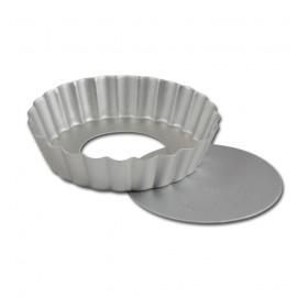 Tartelette vormen met losse bodem (6 stuks)