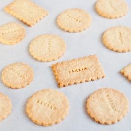 DIY  bakpakket voor Stempelkoekjes