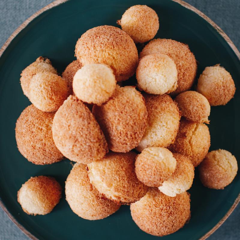 Receptkaart voor Kokosmakronen