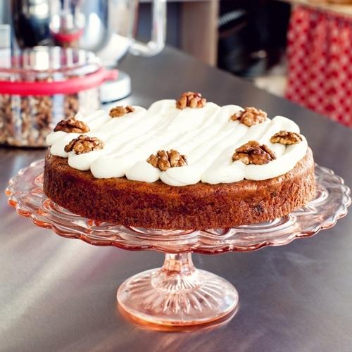 Receptkaart voor Worteltaart met cream cheese