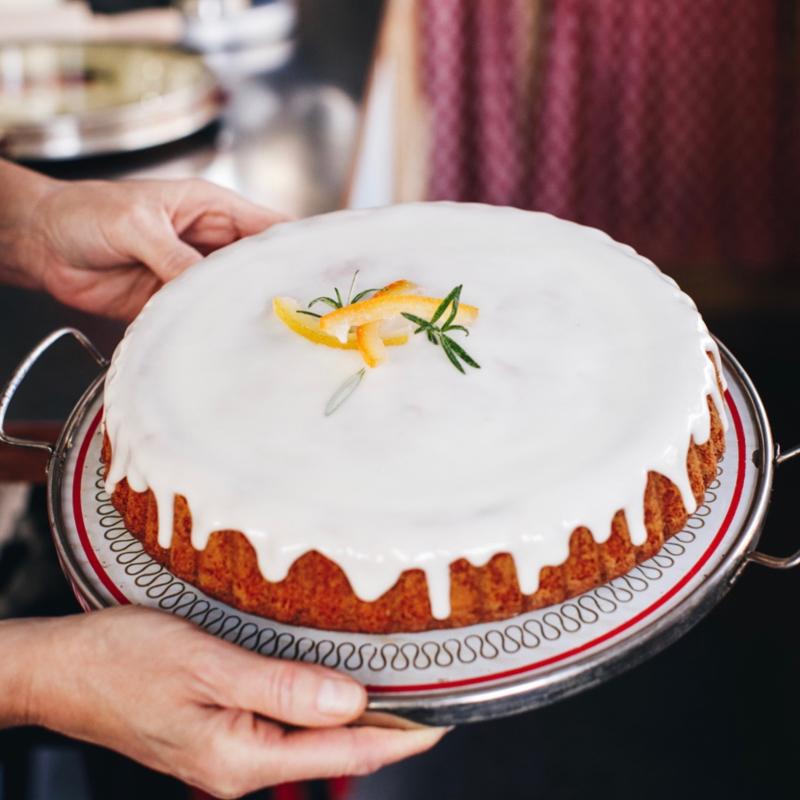 DIY bakpakket voor Rozemarijn-sinaasappelcake met olijfolie