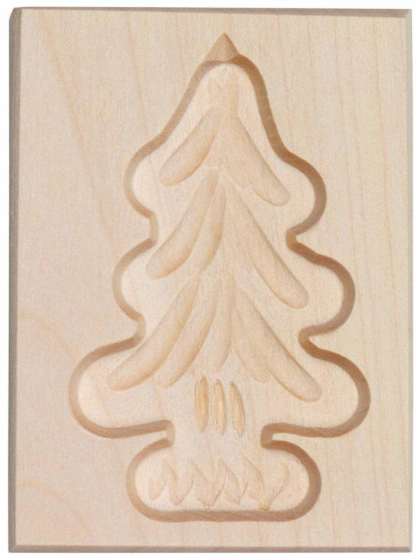 Speculaasplank Kerstboom