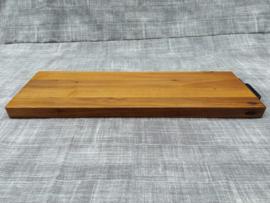 Snijplank, massief eiken ( 78 x 25 x 4 cm )