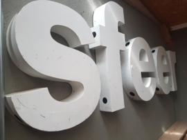 """aluminium letters """"sfeer"""""""