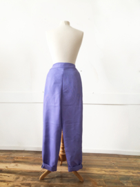 PURPLE TROUSERS
