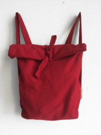 ROOD CANVAS RUGTAS - FOLDER BAG