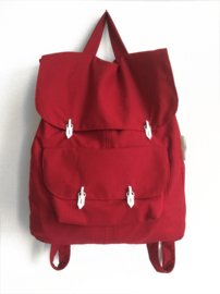 ROOD CANVAS RUGTAS - THE BACKPACK