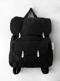RIB ZWART RUGTAS - THE BACKPACK