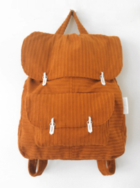 CORDUROY ORANJE - THE BACKPACK