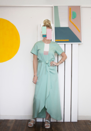 COLOUR BLOCK.2 DRESS