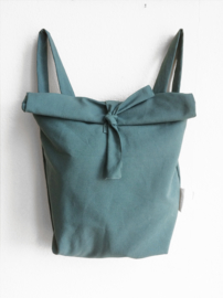 TEAL RUGTAS- FOLDER BAG
