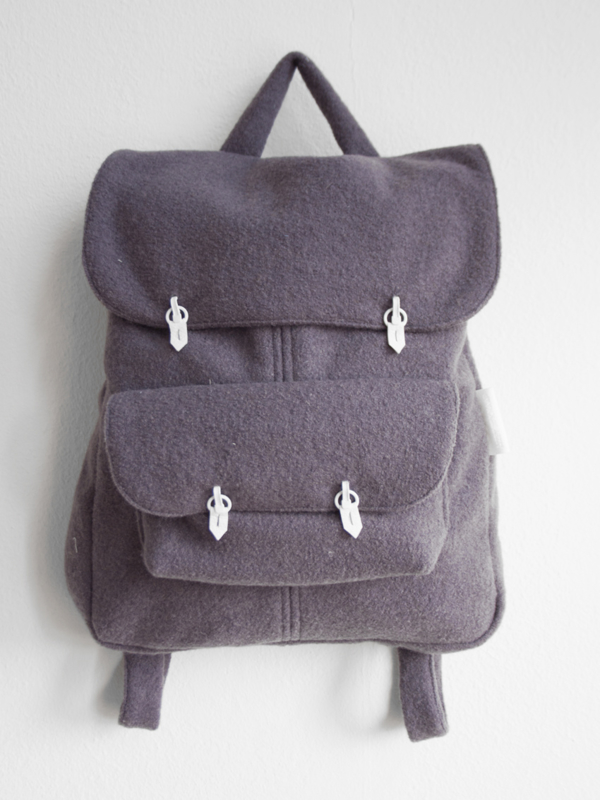 PAARS WOL RUGTAS - THE BACKPACK