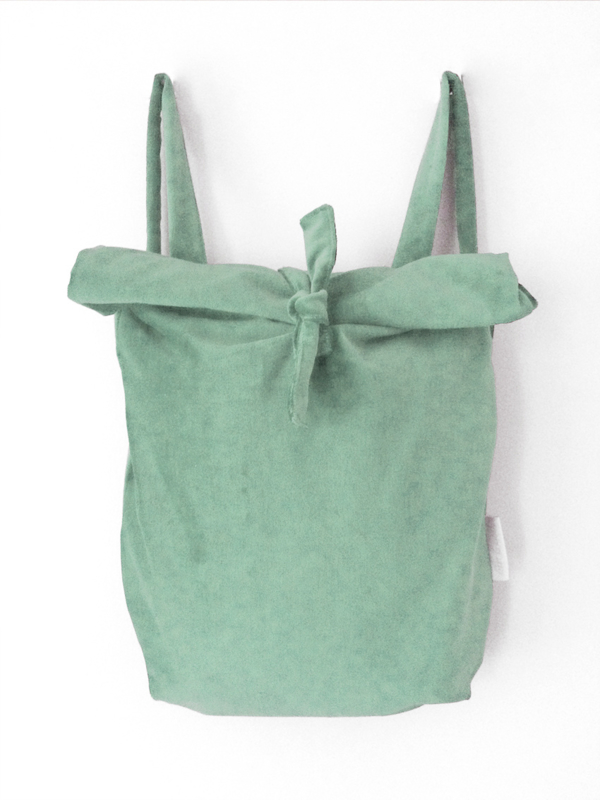 MINT GROEN RUGTAS - FOLDER BAG