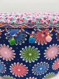 Meditatiekussen gekleurde ballen
