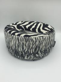 Meditatiekussen zebra /  VERKOCHT