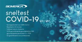 Sneltest COVID-19 alleen voor professionals