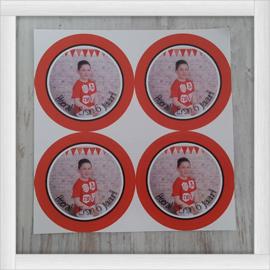 Stickers met foto
