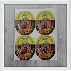 Stickers Ovaal