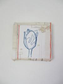 Blauwe tulp