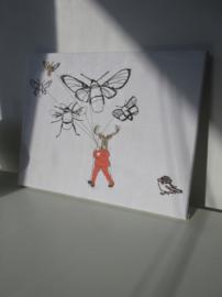 Het vliegend hert en het musje