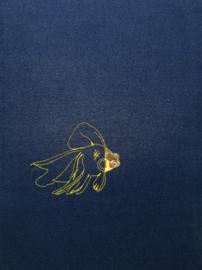Blauw/geel - Vis
