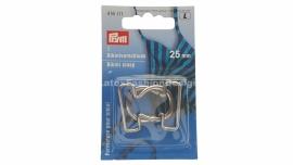 Bikini/BH sluiting, 25 mm, zilver