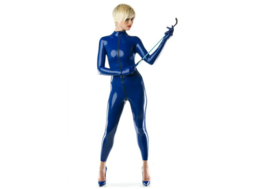 Latex 1.05 Royal blue blauw