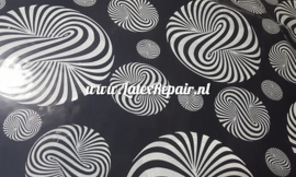 Latex rubber sheet Optische illusie