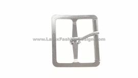Buckle, 32x32-feed 25 mm silver