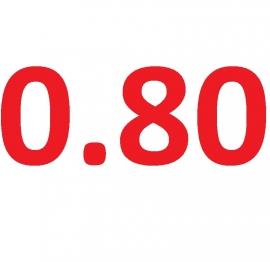 Latex dikte 0.80