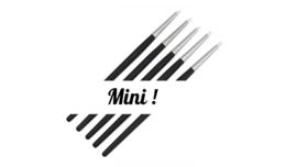 Siliconen 'kwastjes' (5/setje) Mini