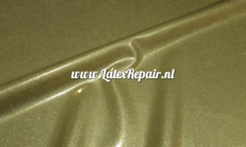 Latex rubber sheet Glitter goud