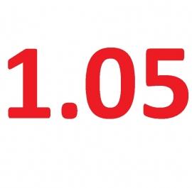 Latex dikte 1.05