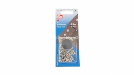 Rivits hollow,  3-4 mm, silver (Prym)