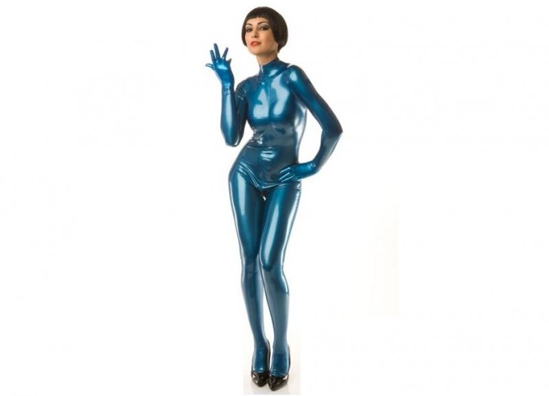 Latex 0.50 Blauw metallic