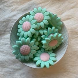 Daisy bead - mint