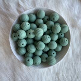 15mm geribbeld - oud groen