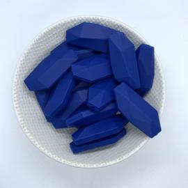Salix blad - sapphire blauw