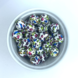 15mm - leopard rainbow
